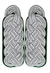 Schultergeflecht - Majorsgeflecht silber