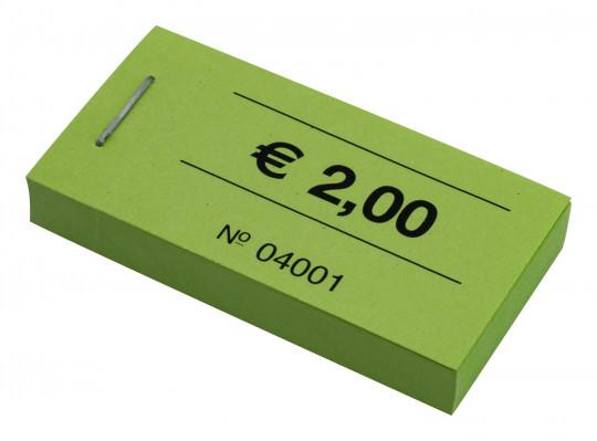 """Blockgutscheine """"2,00 €"""""""