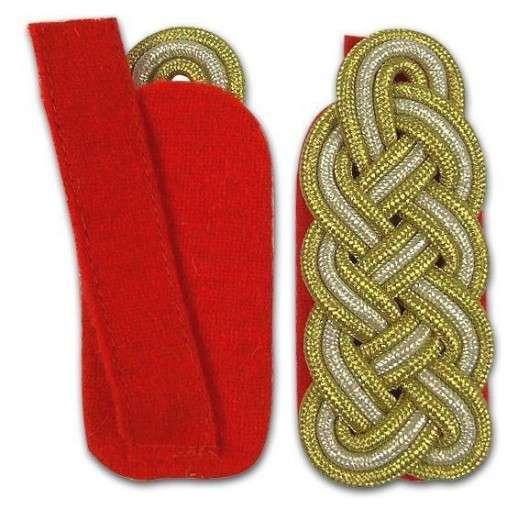 Schultergeflecht - Generalsgeflecht rot