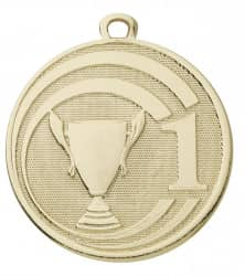 "Medaille ""Glory"" Ø 45 mm inkl. Wunschemblem und Kordel gold"