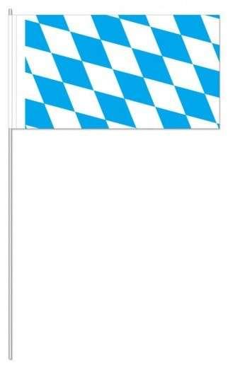 Papierfahnen Bayernraute 50 Stück