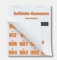 Aufklebenummern für Tombola-Gewinne 801-900
