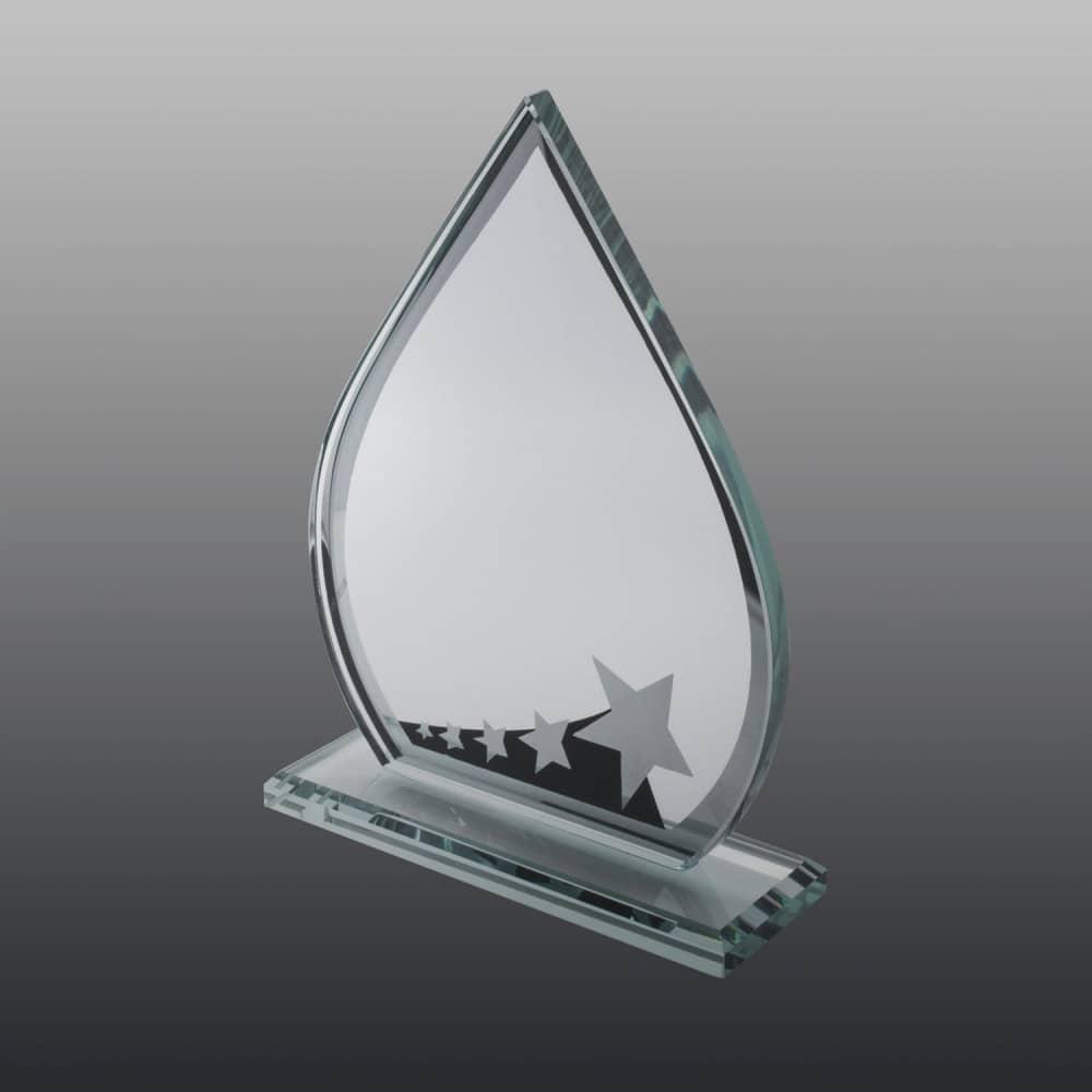 Glastrophäe FSG014 19 cm