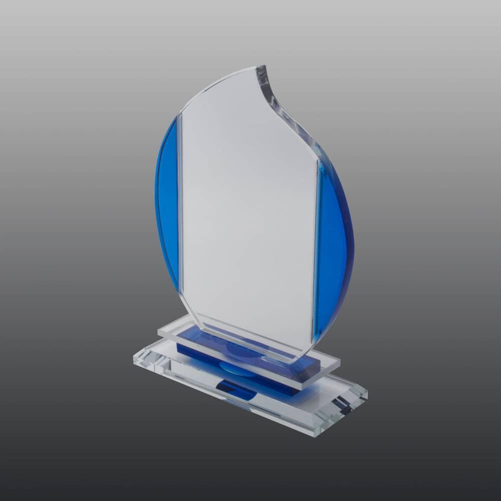 Glastrophäe FSG016 18 cm
