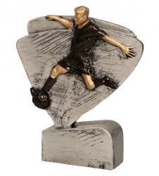 Fußballer Figur TRY-REFL5004 altsilber bronze