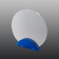 Glastrophäe FSG011 22 cm