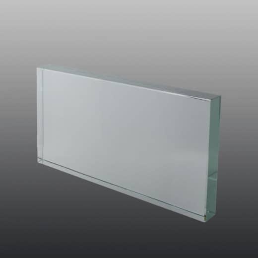 Glastrophäe FSG005 10 x 8 cm