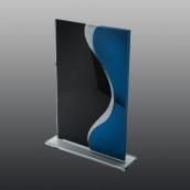 Glastrophäe FSG002 21 cm