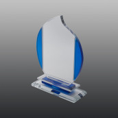 Glastrophäe FSG016 21 cm