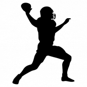 Silhouette Football 10