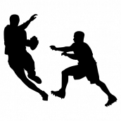 Silhouette Football 13