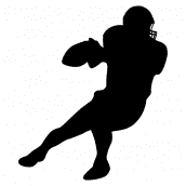 Silhouette Football 2