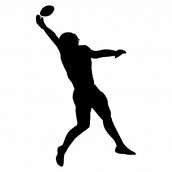Silhouette Football 9