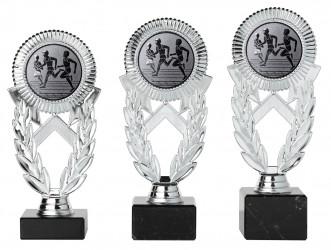 Pokale 3er Serie A286 silber 18 cm