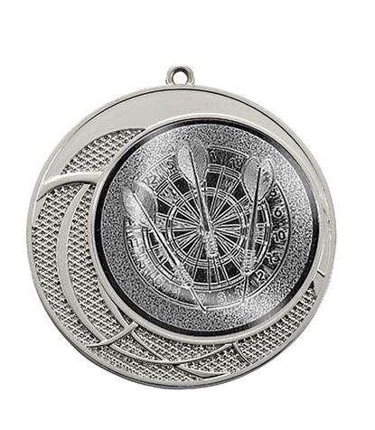 """Medaille """"Delphi"""" Ø 70 mm inkl. Wunschemblem und Kordel silber"""
