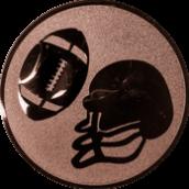Emblem 50mm Football, bronze