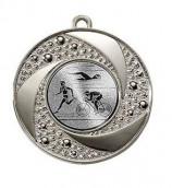 """Medaille """"Brauron"""" Ø 50 mm inkl. Wunschemblem und Kordel silber"""