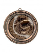 "Medaille ""Delos"" Ø 70 mm inkl. Wunschemblem und Kordel bronze"