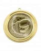 "Medaille ""Delos"" Ø 70 mm inkl. Wunschemblem und Kordel gold"