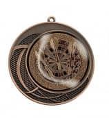 "Medaille ""Delphi"" Ø 70 mm inkl. Wunschemblem und Kordel bronze"