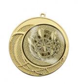 """Medaille """"Delphi"""" Ø 70 mm inkl. Wunschemblem und Kordel gold"""