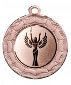 """Medaille """"Eurybia"""" Ø 40 mm inkl. Wunschemblem und Kordel bronze"""