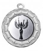 "Medaille ""Eurybia"" Ø 40 mm inkl. Wunschemblem und Kordel silber"