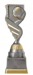 Handballpokal PF203-M61 altsilber/gold 18,8cm