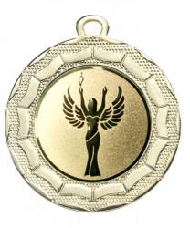 "Medaille ""Eurybia"" Ø 40 mm inkl. Wunschemblem und Kordel gold"