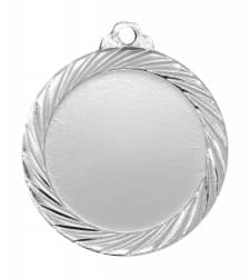 """Medaille """"Passaron"""" Ø 32mm mit Wunschemblem und Band silber"""