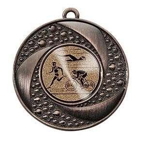 """Medaille """"Brauron"""" Ø 50 mm inkl. Wunschemblem und Kordel bronze"""