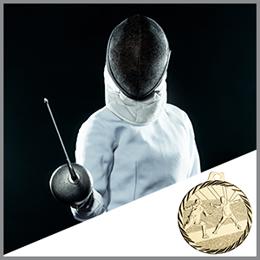 Fecht Medaillen