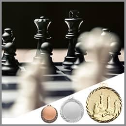 Schach Medaillen