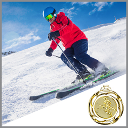 Ski Medaillen