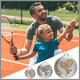 Tennis Medaillen
