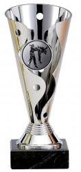 Karatepokale 3er Serie A100-KARA silber