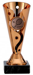 Tennispokale 3er Serie A100-TEN bronze