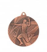 "Medaille ""Handball"" Ø 50mm mit Band Bronze"