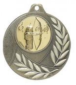 """Medaille """"Vergina"""" Ø 50mm mit Wunschemblem und Band bronze"""