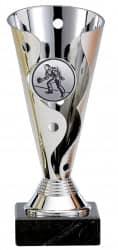 Bowlingpokale 3er Serie A100-BOW silber