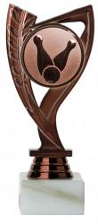 Bowlingpokale 3er Serie A285-BOW bronze