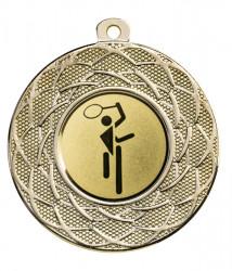 """Medaille """"Gyges"""" Ø 50 mm inkl. Wunschemblem und Kordel gold"""