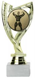 Bodybuildingpokale 3er Serie A285-BOD gold