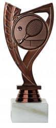 Tennispokale 3er Serie A285-TEN bronze
