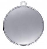 """Medaille """"Elea"""" Ø 50mm mit Wunschemblem und Band silber"""