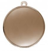 """Medaille """"Fisch"""" Ø 50mm mit Band Bronze"""