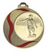 """Medaille """"Akragas"""" Ø 70mm mit Wunschemblem und Band bronze"""
