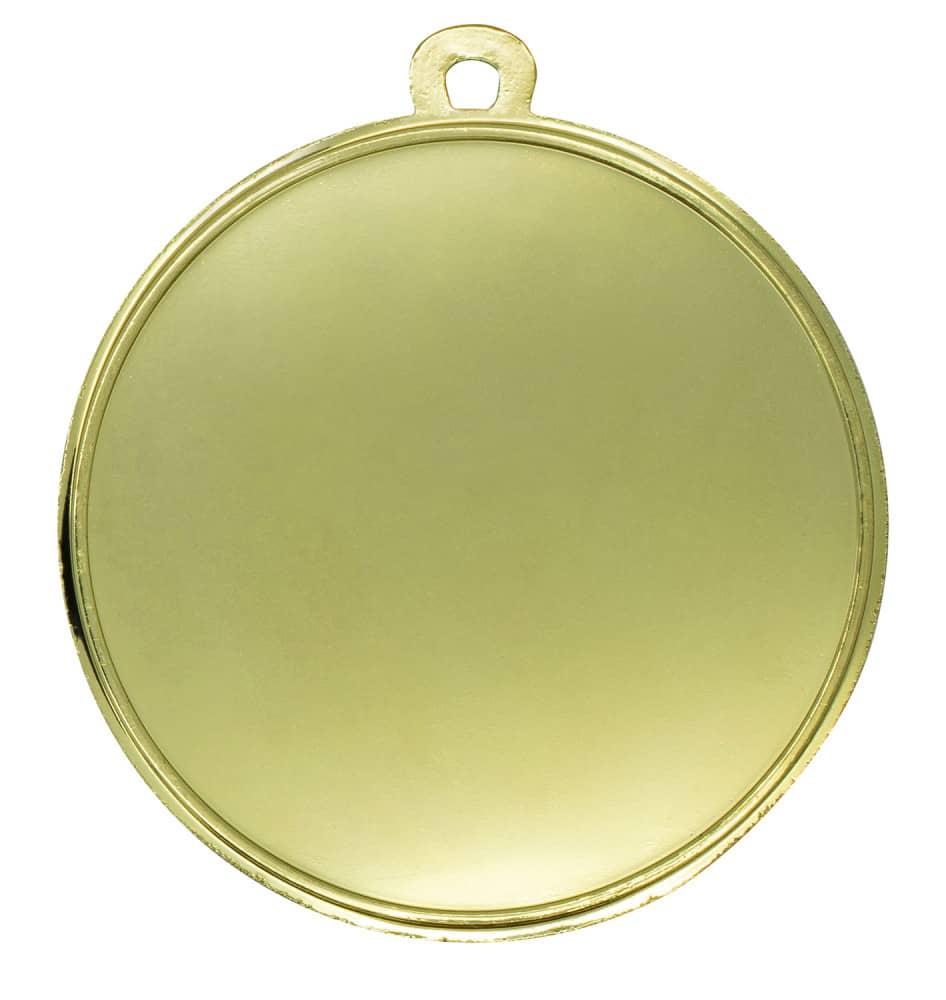 """Medaille """"Akragas"""" Ø 70mm mit Wunschemblem und Band gold"""