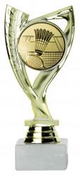 Badmintonpokale 3er Serie A285-BAD gold