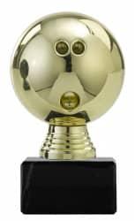 "Ballpokal ""Bowling"" PF306.1 gold"